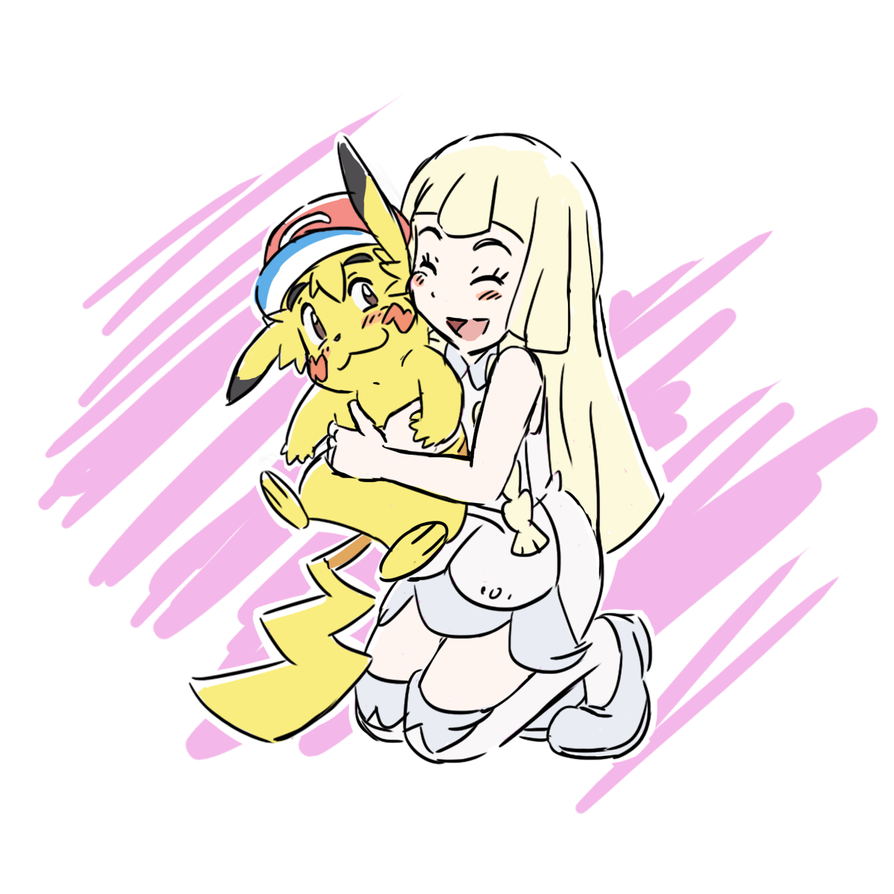 Lillie's Pikachu by E-122-Psi