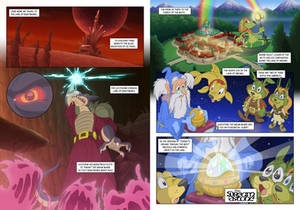 The Dreamstone Intro Pages