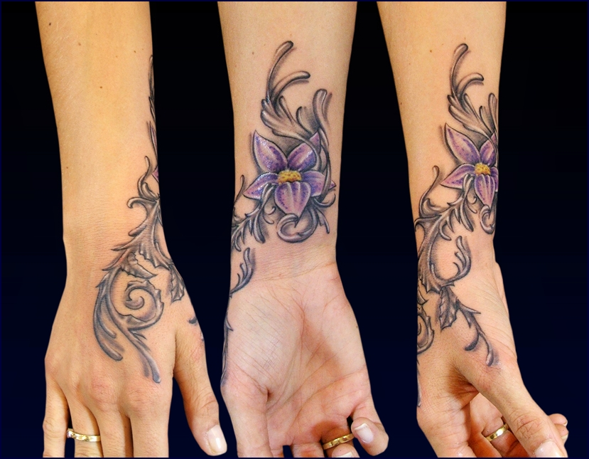 Dynamics Flower by Anderstattoo