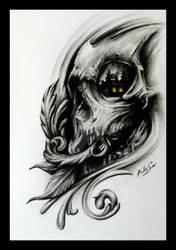 Dynamics Skull by Anderstattoo