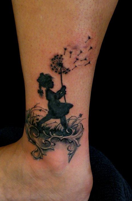 Little Girl by Anderstattoo