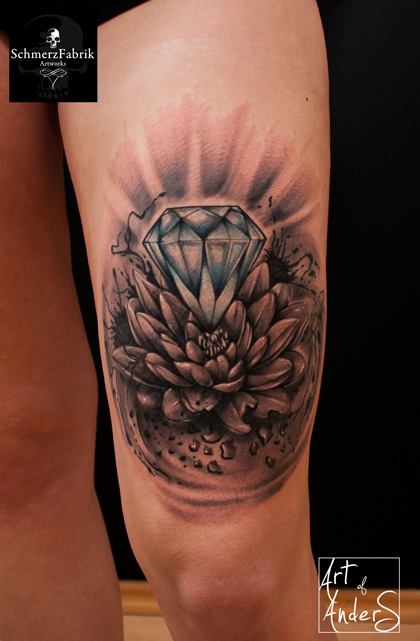 Diamond by Anderstattoo