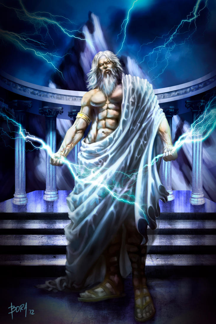 zeus god of thunder Zeus was the ruler of the olympian gods and the god of the sky he didn't earn the throne in a traditional matter though instead, he overthrew the current ruler.