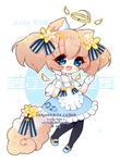 [CLOSED] 4-DAY AUCTION Valyrabbits Collab Aria