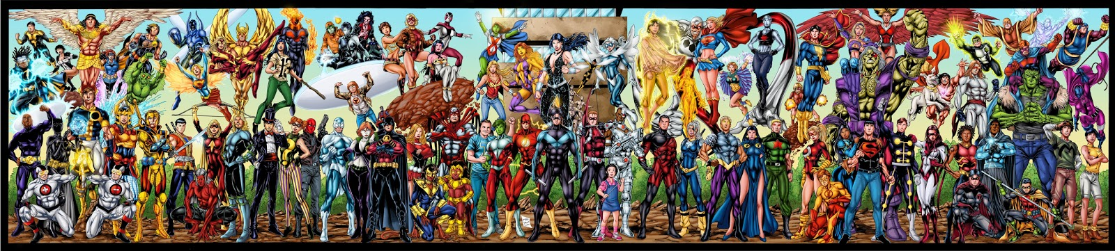 [Unsafe Future] Titans VS Fatal Five. All_titans_by_mandrakz-d6vugpr