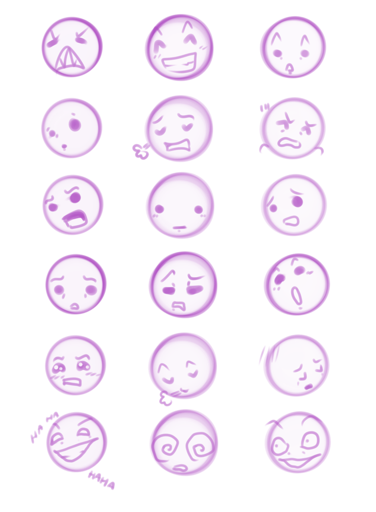 How Draw Chibi Expressions   Chibi Expressions