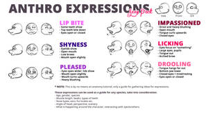Anthro Expressions - Sexy Pack! by shesta713