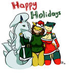 Happy (belated) Holidays! :D