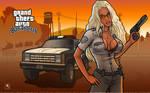 GTA SA Amy Anderssen copwoman