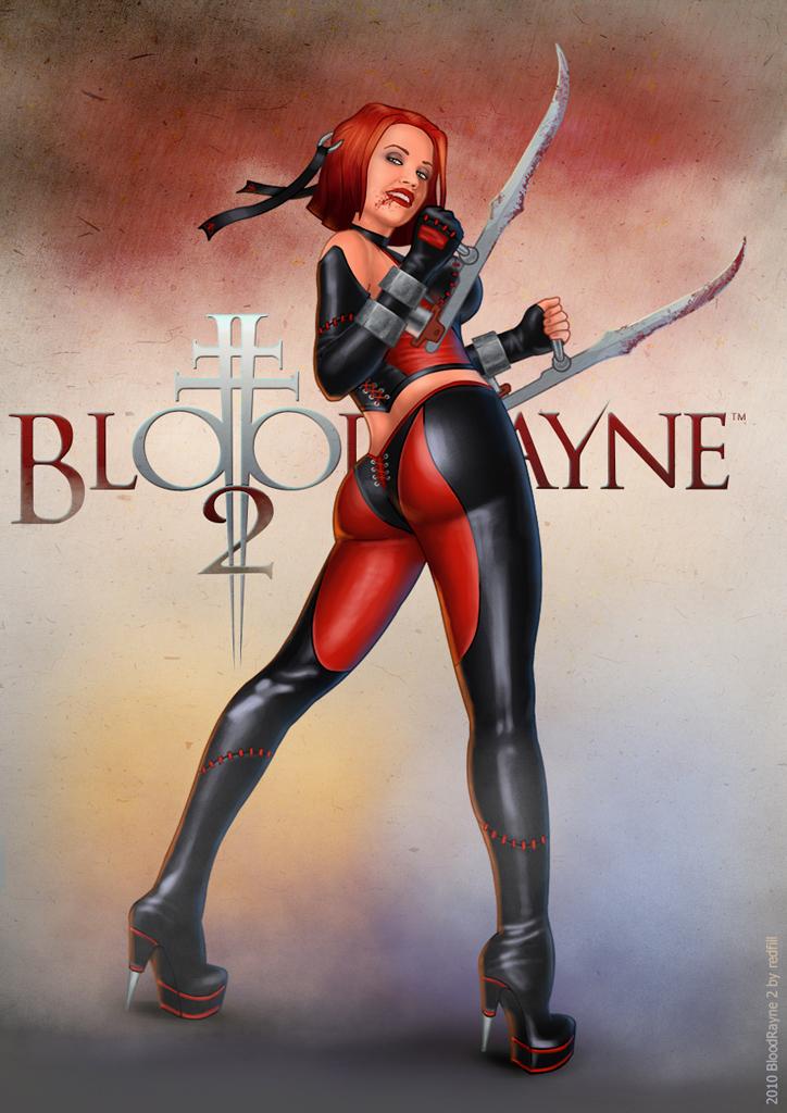 BloodRayne 2 rear by redfill