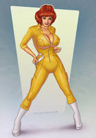 April O'Neil TMNT by redfill