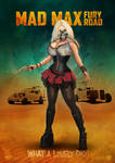 Immortan Joe female cosplay poster