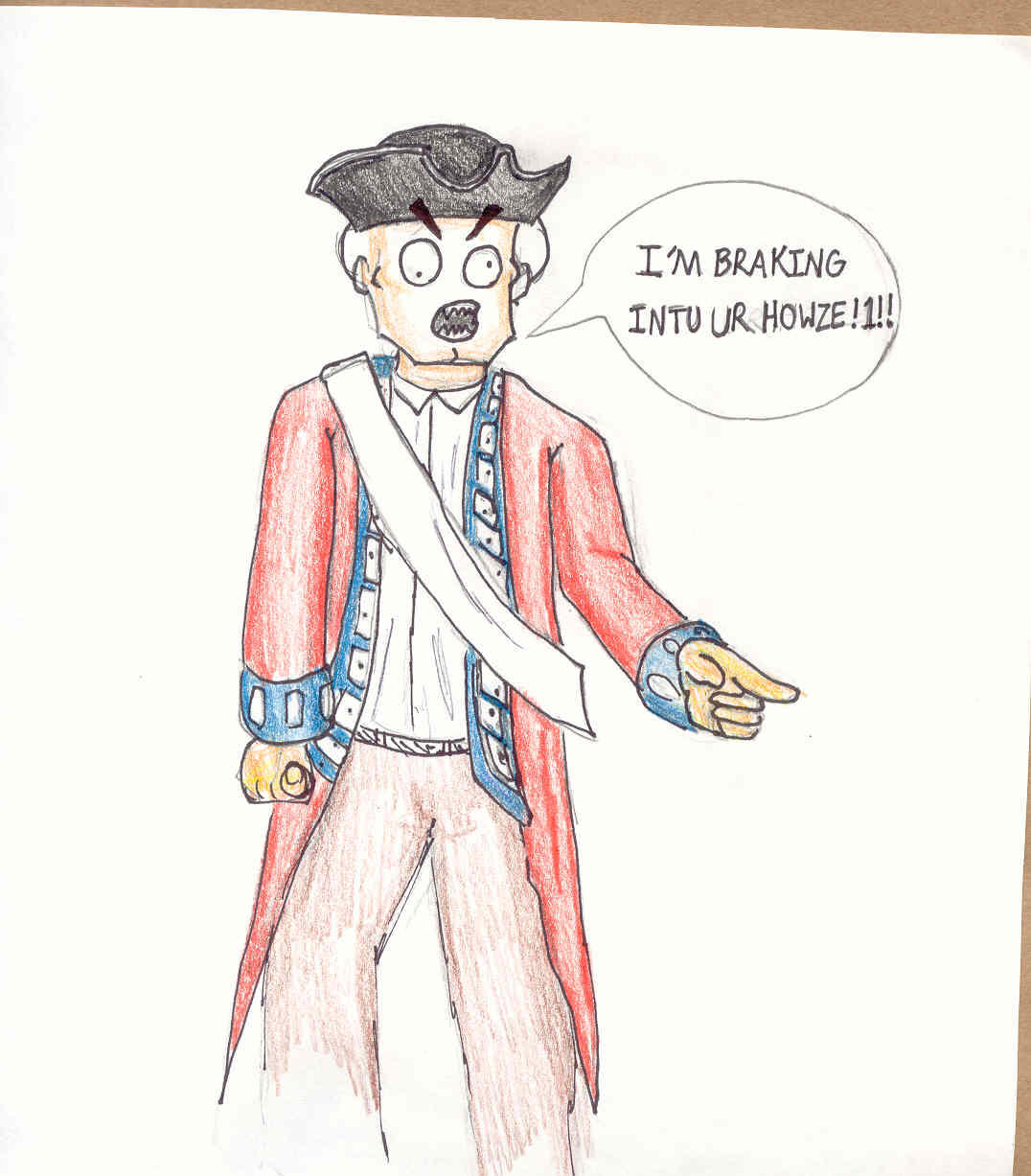 redcoat cartoon by Soulphat on DeviantArt
