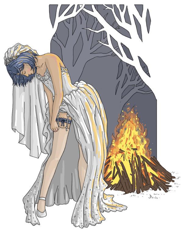 The Wedding Dress - James by Lady-Mango