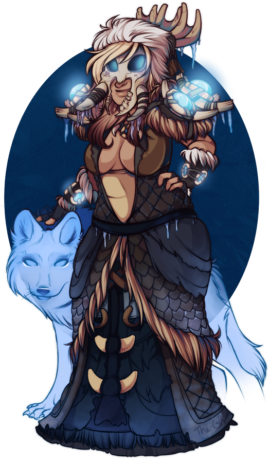 Frost Witch by GeeKei