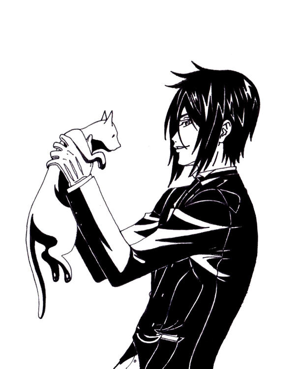 Sebastian, Neko Baka by TheSleepyRabbit