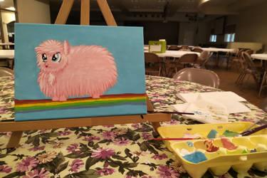Fluffy Acrylics