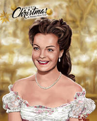 Romy Schneider as Sissi by che38