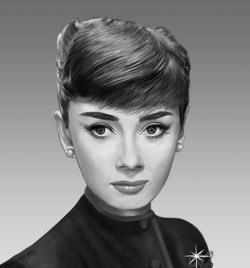 Audrey Hepburn - the fascinating beauty by che38