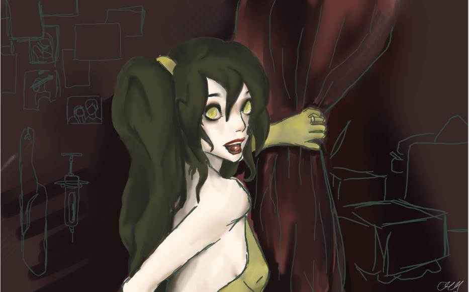 Rotten Girl, Grotesque Romance [UTAU] by shittydoodlez