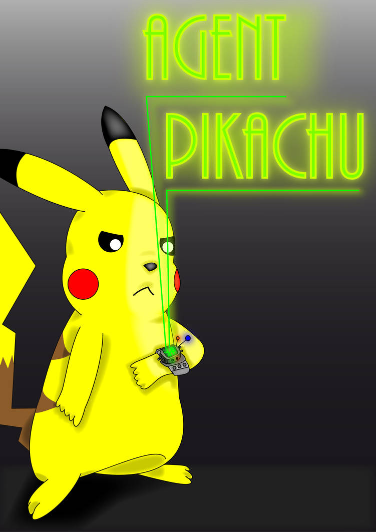 Agent Pikachu Cover
