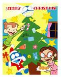 Merry Christmas with Rudy by kuro-risu