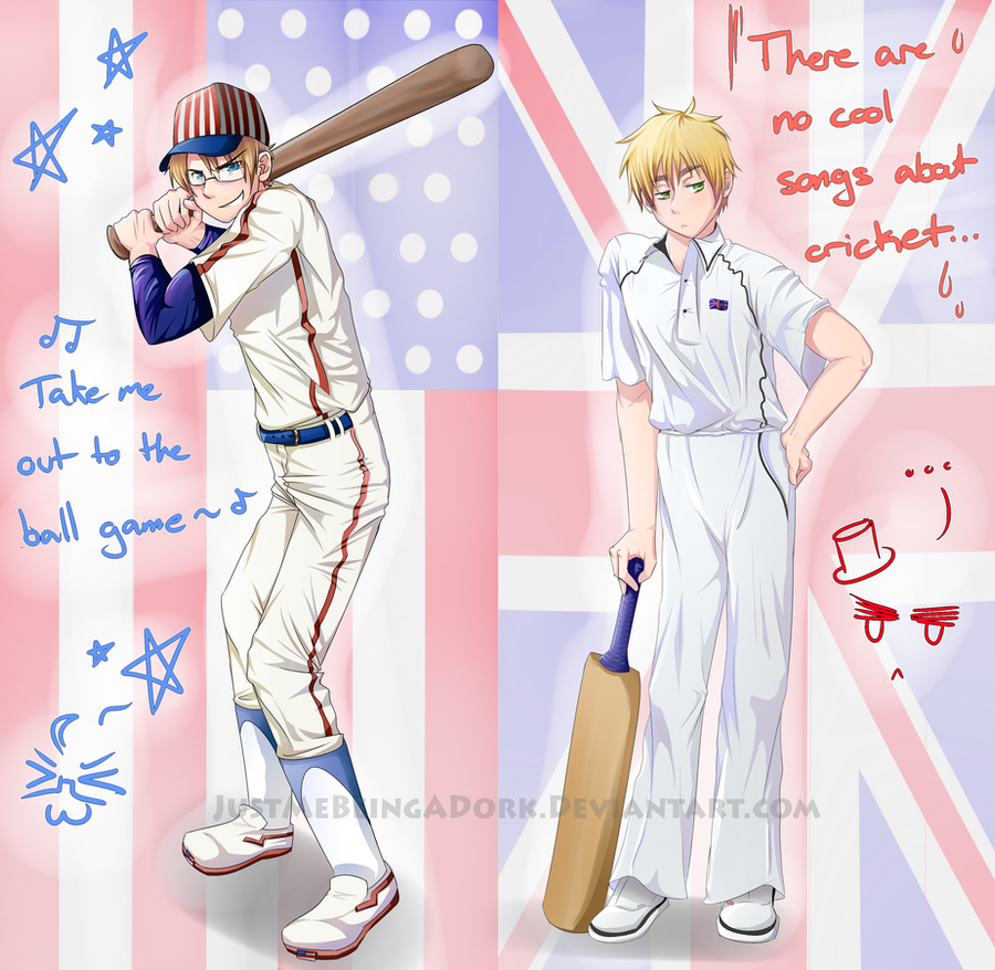 USUK National Sports by JustMeBeingADork