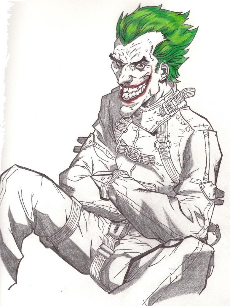 Straight-jacket Joker by MasterDrawer on DeviantArt