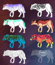Wolf Adopts by FlyingFire