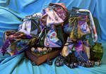 DnD inspired dice bags!