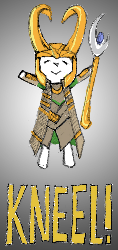 Join TinyLoki's Army, mewling quim! by RandomJaxx