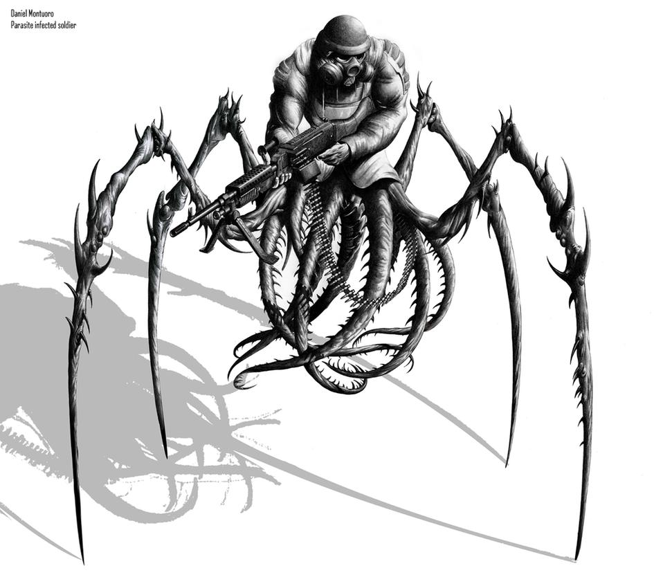 Alien parasite specimen xts26 by xjager513