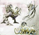 Concept: Gullarian Alien Race