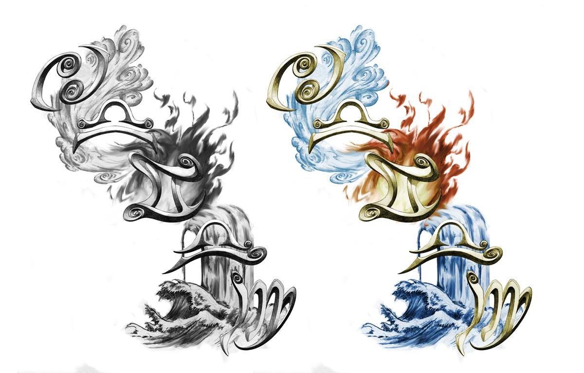 element tattoo design by xjager513 on deviantart. Black Bedroom Furniture Sets. Home Design Ideas