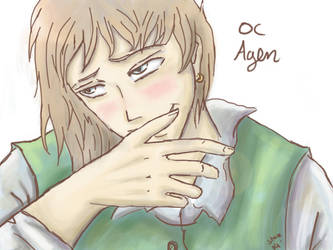 Original Character Agen by TheNobody1990