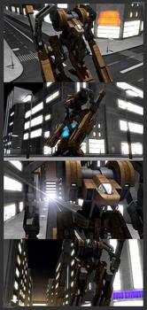 savage huskies 3D render 2 by omegadragon3000