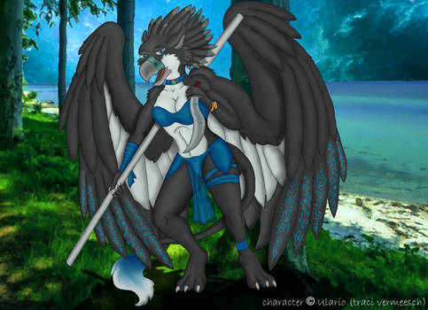 (Fanart) Andromeda the gryphon