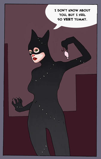Catwoman : color