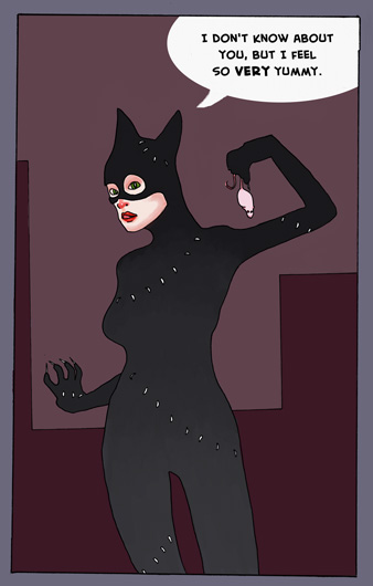 Catwoman : color by aggyb
