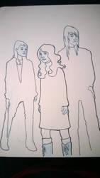 Emma, Miranda, Frey