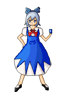 Cirno's ⑨ortfolio Cirno__by_flyingginger-d5fptby