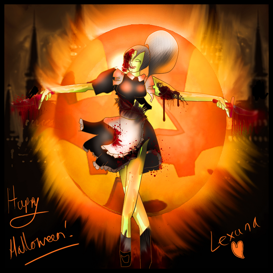 Cirno's ⑨ortfolio Lexuna__happy_halloween__by_flyingginger-d5im8j2