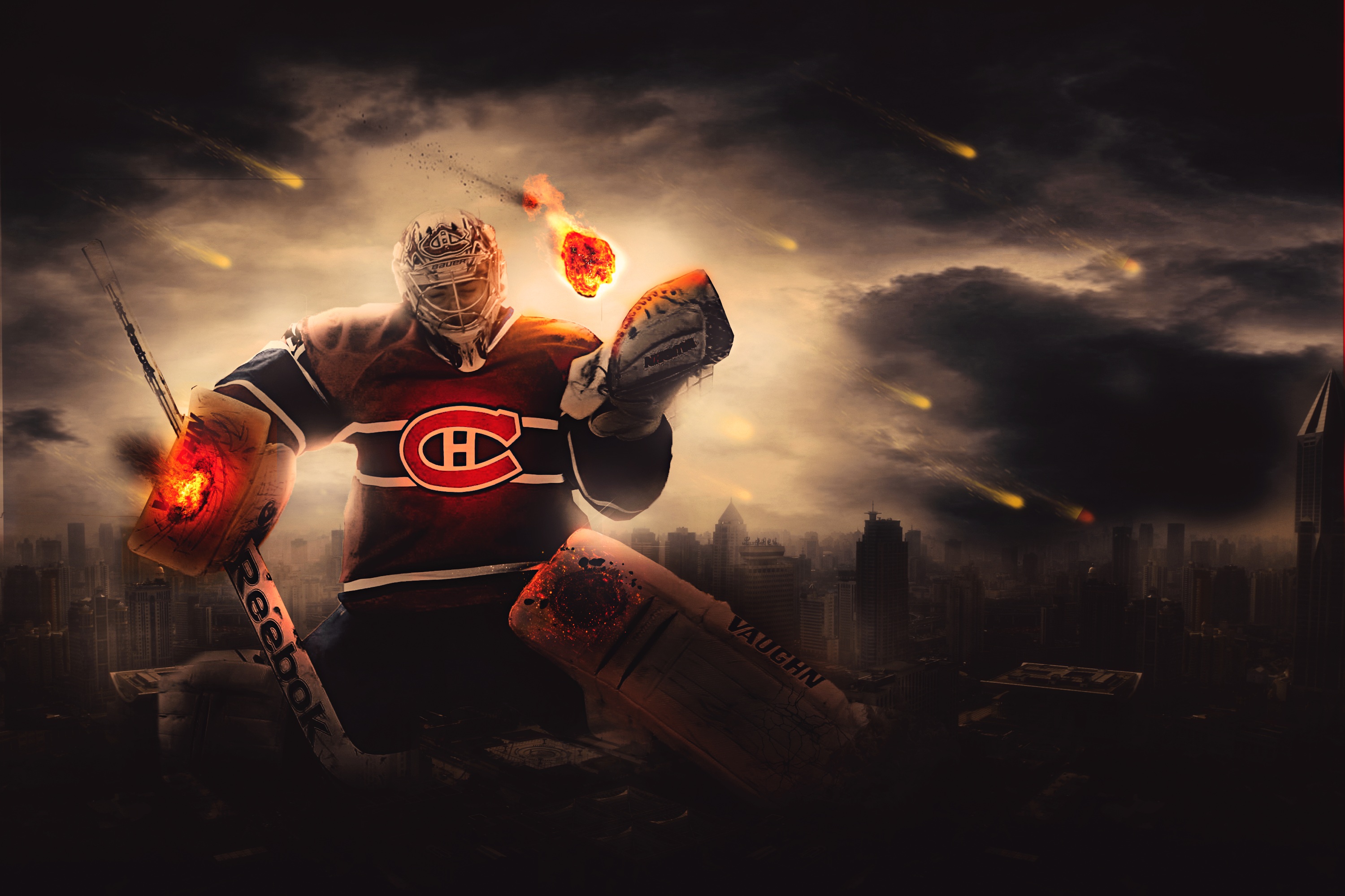 ... Carey Price, Saviour of all. by FlyingGinger