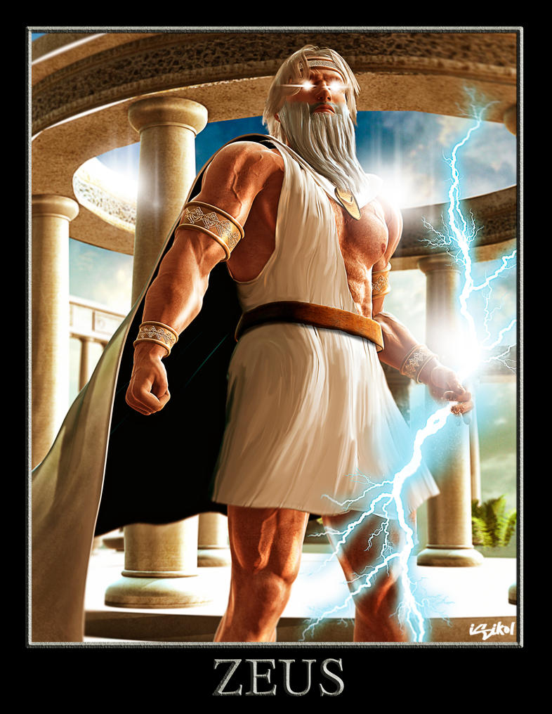 ZEUS - GREEK GODS PROJECT by isikol on DeviantArt
