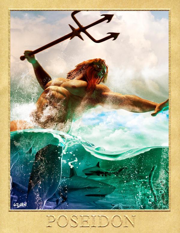 POSEIDON - GREEK GODS PROJECT by isikol on DeviantArt