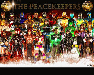 THE PEACEKEEPERS-KINGDOM COME by ISIKOL