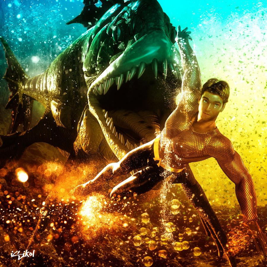Jason Baca as Aquaman