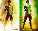 GREEN LANTERN - left or right?