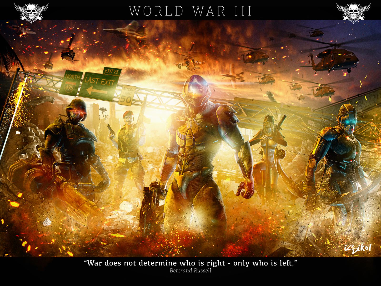 WORLD WAR III by isikol on DeviantArt