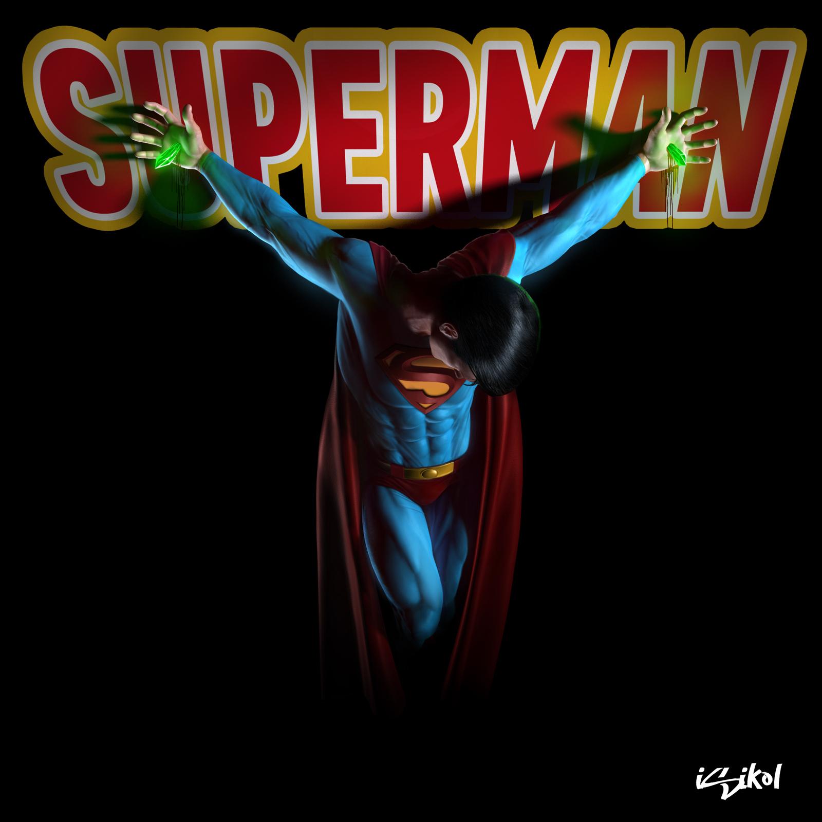 SUPERMAN CRUCIFIXION